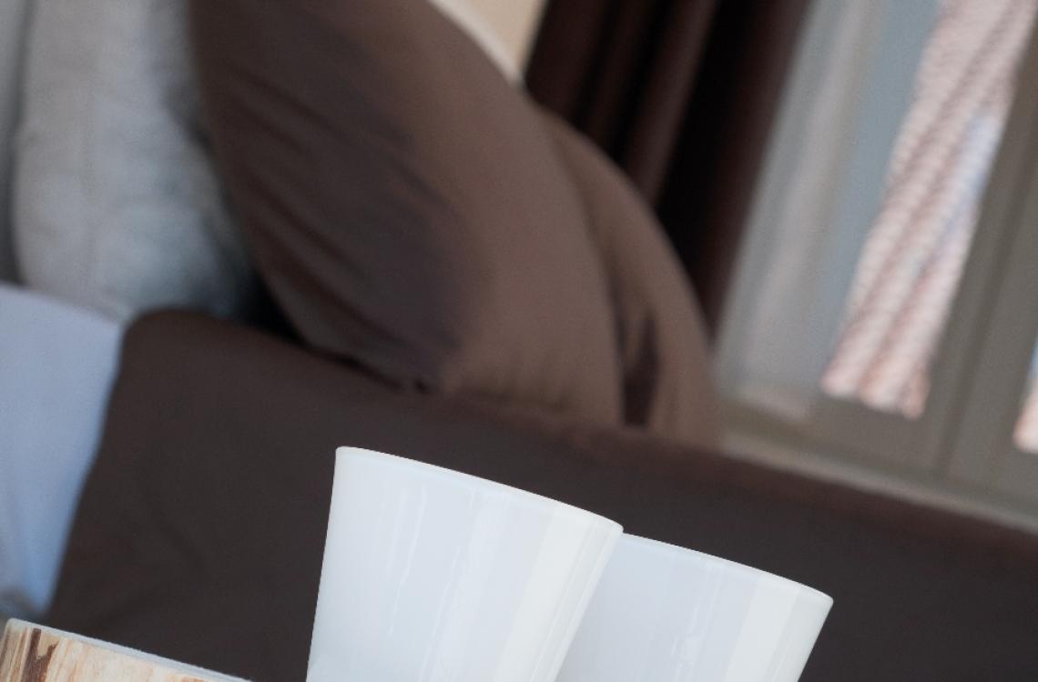 La suite, caratterizzata dall'antica torre colombaia costruita dai  domenicani nel XIV secolo, è collocata su due piani su cui si dispongono  la camera da letto, con un letto matrimoniale, il soggiorno, con due letti singoli,ed il bagno. Di complessivi 55mq, ècollocata nella parte più storica  dell'insediamento rurale, in un ambiente armonico e rilassante, arredata  con stile contemporaneo ed elegante, la suite può diventare una comoda  family room per 3-4 persone.<br>Disponibile uso SINGOLA, uso DOPPIA, uso TRIPLA e uso QUADRUPLA (2 adulti + 1/2 bambini).<br>